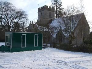 Winter toilet facilities